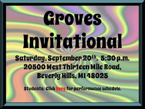 Groves Marching Band Invitational